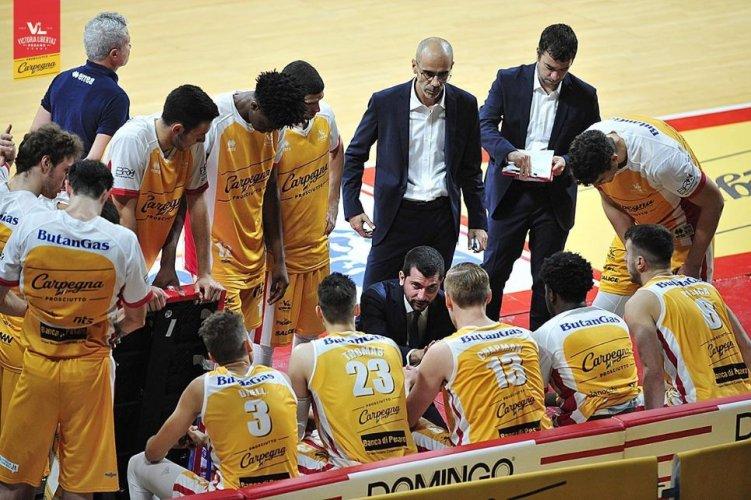 Coach Federico Perego presenta Virtus Roma - Carpegna