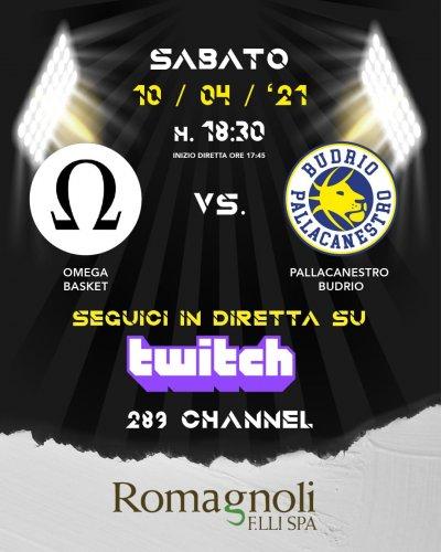 4a giornata di campionato: il prepartita   Omega Basket  - Pallacanestro Budrio