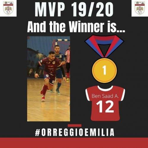 OR Reggio Emilia : I tifosi hanno votato: MVP dell'OR 2019/2020... Akram Ben Saad!