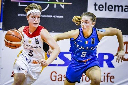 Alessandra Orsili (Feba Civitanova Marche) si laurea campionessa d'Europa con l'under 18