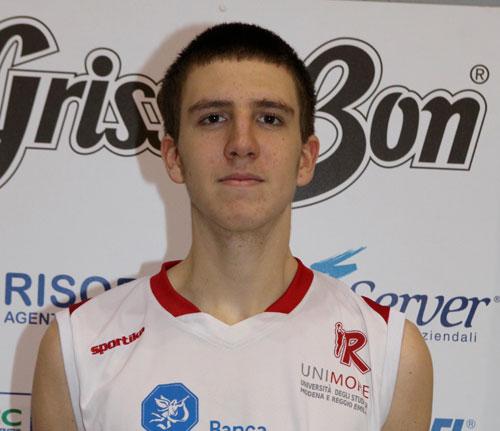 Alessandro Vigori (Pall. Reggio Emilia) in prestito a Mantova