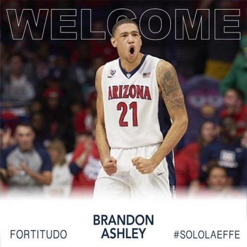 Brandon Ashley è un nuovo giocatore della Fortitudo Pallacanestro Bologna!