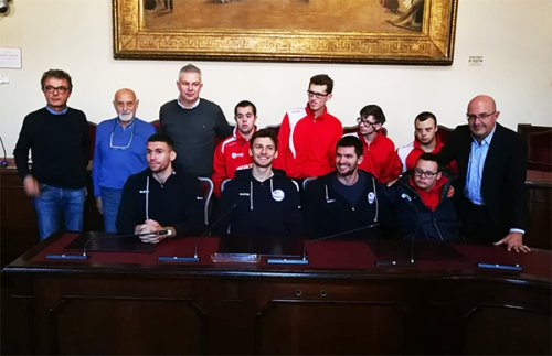 Nasce il gemellaggio tra UCC Assigeco Piacenza e Dream team special basket