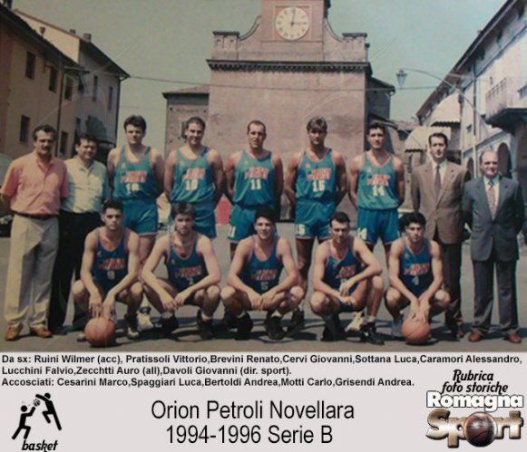 FOTO STORICHE - Orion Petroli Novellara 1994-95