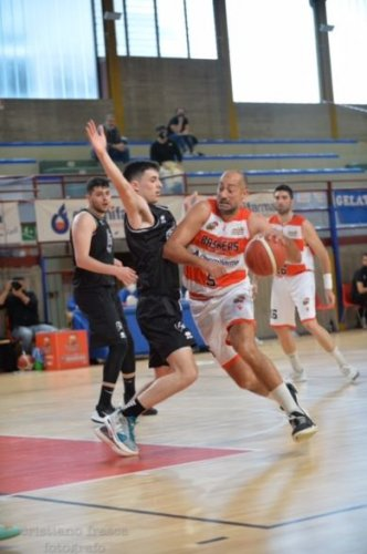 Baskérs Forlimpopoli  vs Gaetano Scirea Bertinoro   75-77 dts