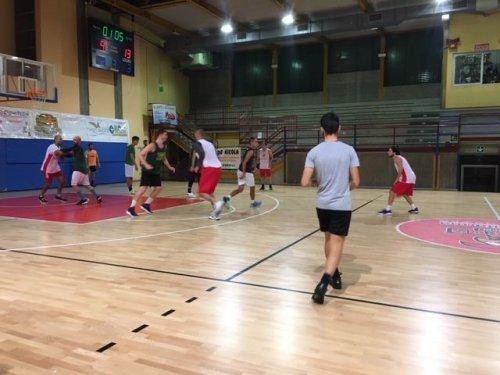 Quinta Amichevole non ufficiale Baskers Forlimpopoli - Cesena Basket 2005   73-44
