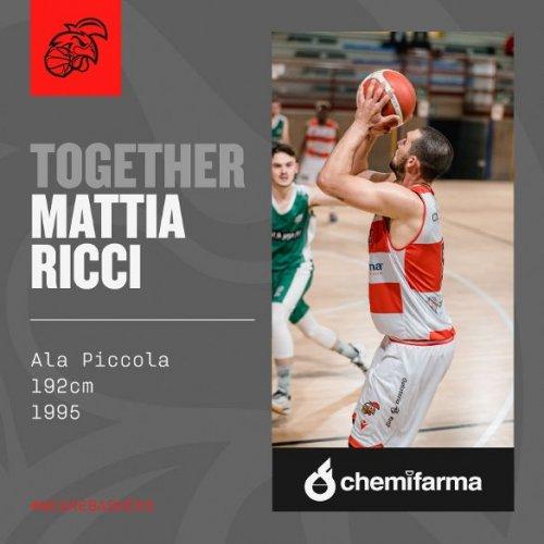 Mattia Ricci e i Baskérs Forlimpopoli  ancora insieme!