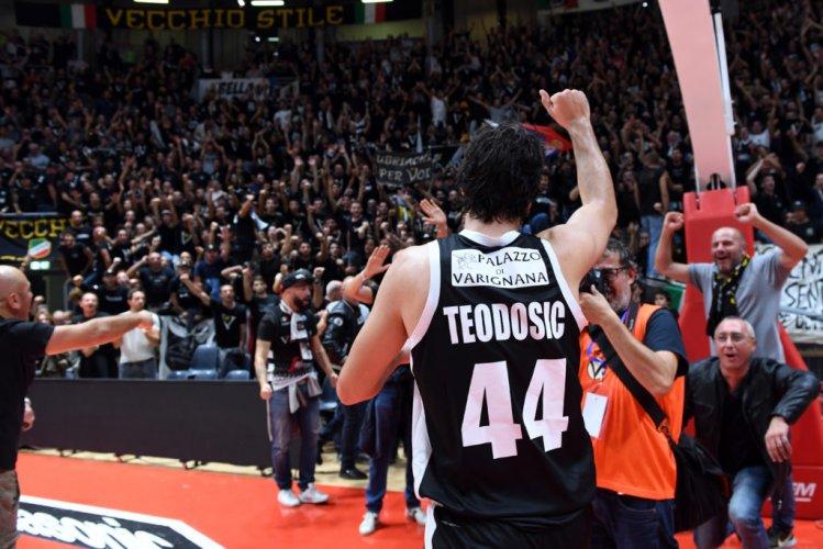 Virtus Segafredo Bologna : EuroCup, l'intervista di Milos Teodosic