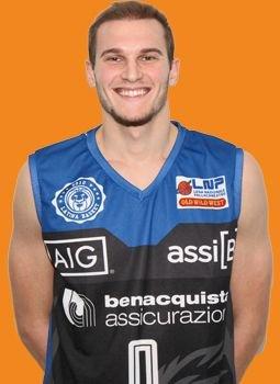 Janus Basket Fabriano : benvenuto , Gabriele Benetti!!!