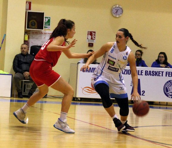 Feba Civitanova Marche – High school basket Roma 63-40