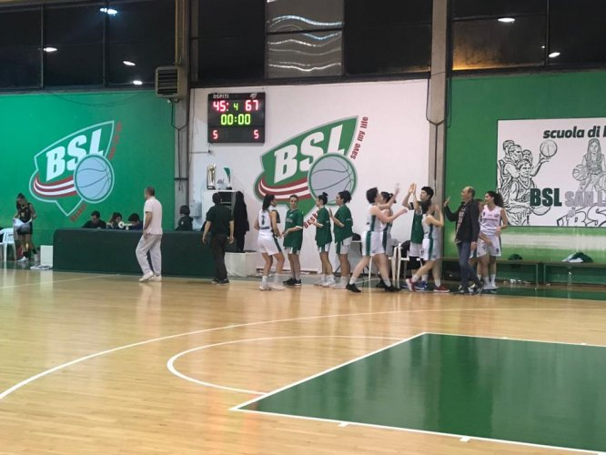 Basket Girls Ancona - BSL San Lazzaro    75-73