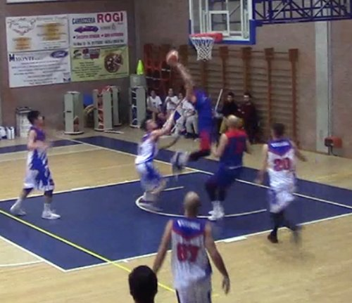 Anzola basket vs Bologna basket 2016: 76-77