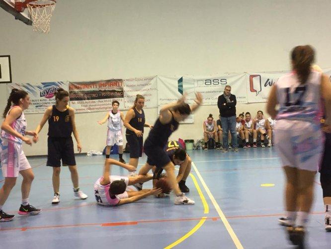 Istituti Polesani Vis Rosa  vs  Carlotta Zecchi  50 - 34   (16-8; 26-13; 35-18)