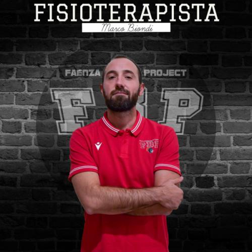 Faenza Basket Project : Marco Biondi nuovo fisioterapista