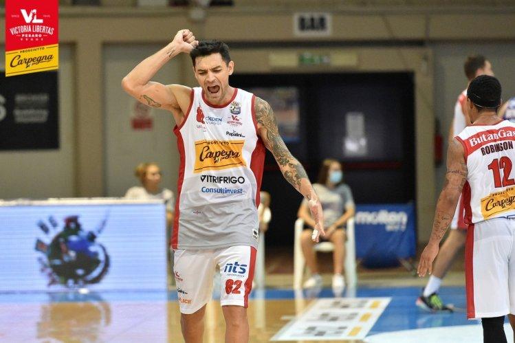 Carpegna Prosciutto Basket Pesaro : Tampone rapido negativo per il gruppo squadra