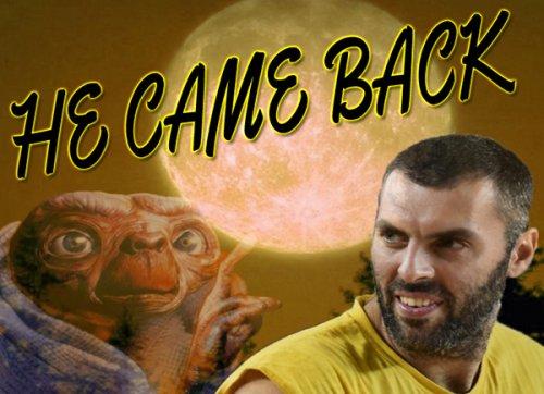 Daniele Casadei è tornato in campo