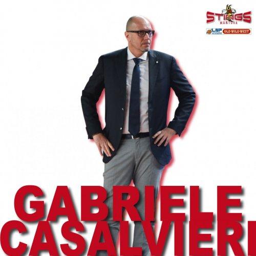 Pallacanestro Mantovana : Gabriele Casalvieri in biancorosso per la sesta stagione consecutiva!