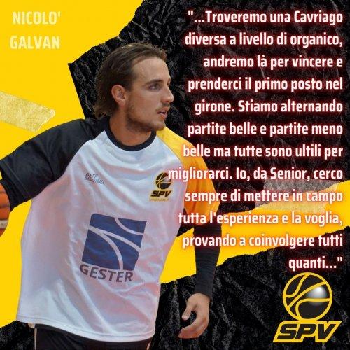 Pre - Gara Scuole Basket Cavriago - Scuola Pallacanestro Vignola, con Nicolò Galvan