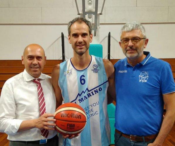 Andrea Raschi alla Tiss'you care San Marino