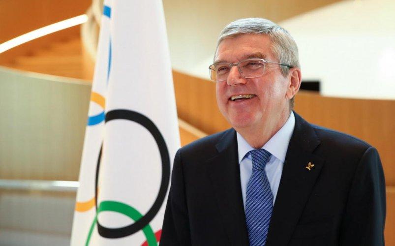 Bach scrive a Malagò: grazie al CONI per il meraviglioso video degli atleti, esempio di spirito olimpico