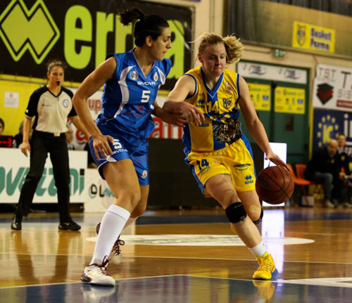 Lavezzini Basket Parma – Umana Venezia 61 a 72 (30-29)