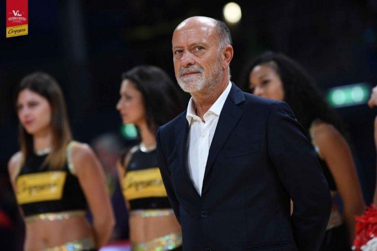 Coach Giancarlo Sacco presenta OriOra  Pistoia   vs Carpegna Prosciutto Basket Pesaro