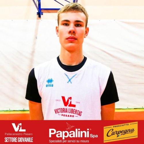 Carpegna Prosciutto Basket Pesaro - Nuovo arrivo nel settore giovanile della VL!