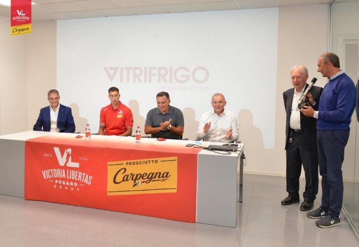 """Marko Filipovity: """"Sono orgoglioso di giocare per la Carpegna Prosciutto Basket Pesaro e di essere allenato da Coach Repesa"""""""