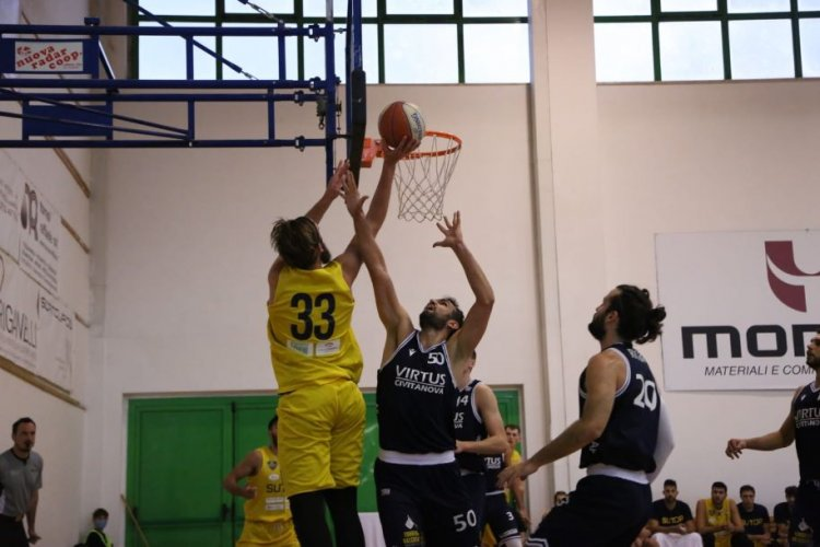 Seconda sconfitta in campionato, la Sutor Basket Montegranaro esce battuta da Civitanova per 67-52