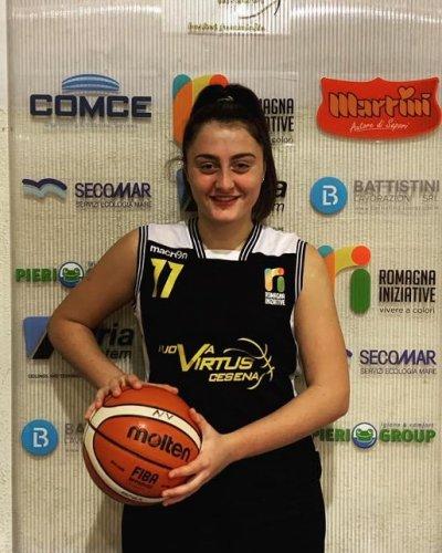 Nuova Virtus Cesena  -  Carlotta Zecchi Basket Reno  70 - 48