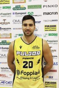 Fulgor Fidenza Basket : Fulgorato Dani Koljanin !