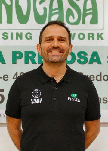 ASD Francesco Francia Pallacanestro : Confermato Daniele Cavicchi