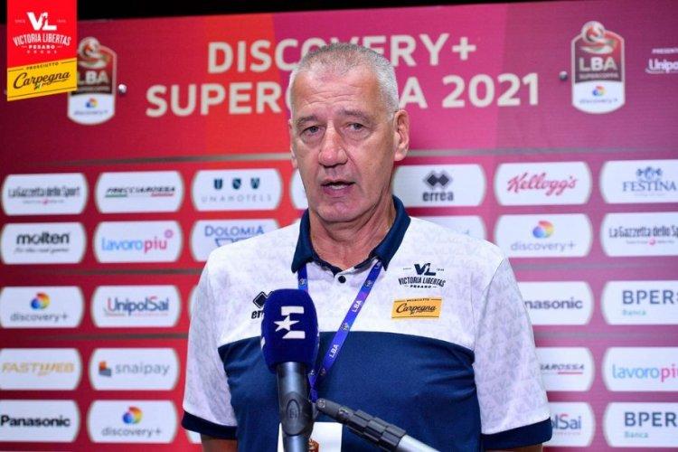 Carpegna Prosciutto Basket Pesaro  - Aza Petrovic ha annunciato le sue dimissioni.