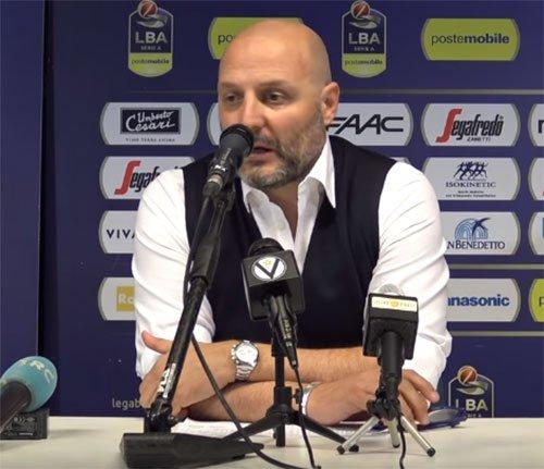 Le dichiarazioni di Coach Djordjevic alla vigilia della sfida con Maccabi Rishon JC