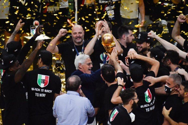 Virtus Segafredo Bologna : Campioni d'Italia! Le parole del Patron virtussino