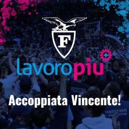 Lavoropiù è il nuovo Main Sponsor della Fortitudo Pallacanestro Bologna!