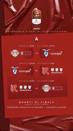 Pallacanestro Reggiana : Ecco le date della Supercoppa Discovery + 2021!