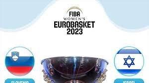 L'EuroBasket Women 2023 si giocherà in Slovenia e Israele. Fase finale tutta a Lubiana