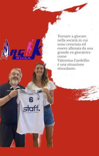 Magik Basket Rosa Parma : Bentornata a casa Martina Minari