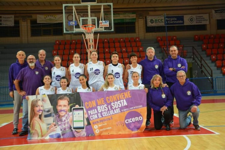 Anteprima di Basket Girls Ancona vs  MyCicero Basket 2000 Senigallia