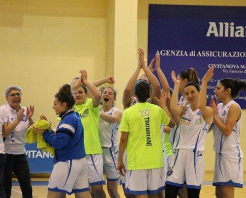 Play-off - Feba Civitanova Marche – Cestistica Spezzina 57-56