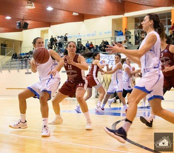 La Feba Civitanova Marche impegnata in casa del Progresso Basket bologna