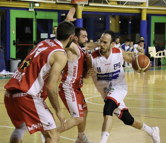 Bologna basket 2016 vs  Rinascita basket Rimini: 74-81