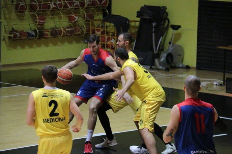 Virtus Medicina - Bologna Basket 65-78