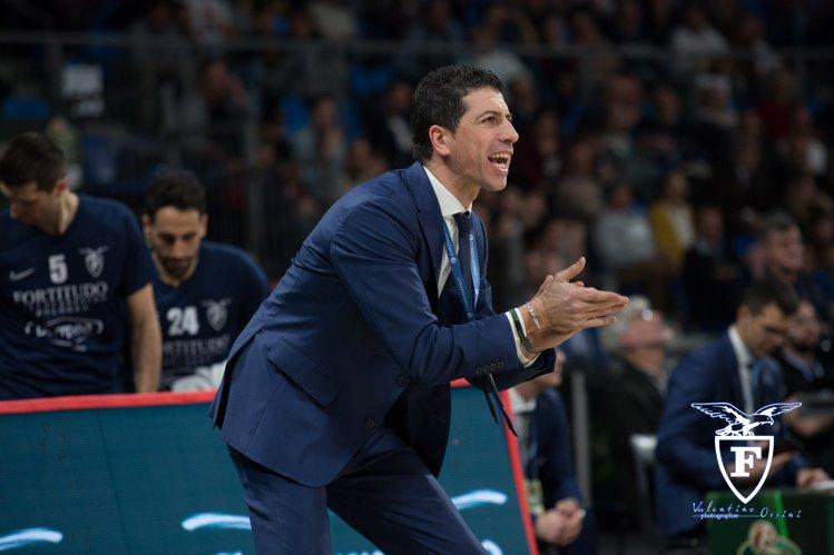 Fortitudo Pallacanestro Bologna : Risoluzione consensuale del contratto con coach Antimo Martino