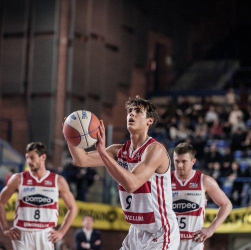 Domenica la Pompea torna al Grana Padano Arena per la partita contro Caserta