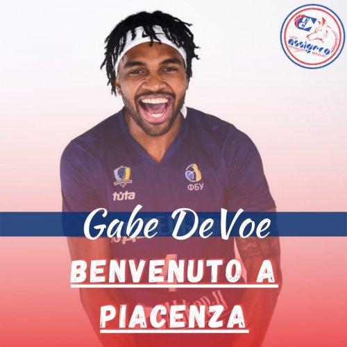 Assigeco Piacenza -  Gabe Devoe : la guardia che viene dal ....freddo dell'Ucraina...