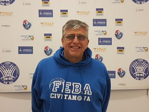 Il bilancio di coach Gabriele Carmenati dopo un mese di lavoro in casa Feba Civitanova Marche