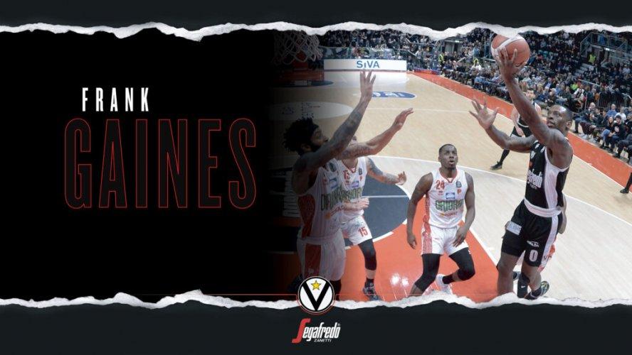 Virtus Segafredo Stats – La stagione di Frank Gaines
