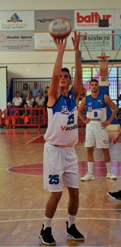 2G - Ferrara Basket 2018 : Ultimo test con Castelnovo.